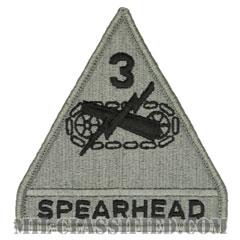 第3機甲師団(3rd Armored Division)[UCP(ACU)/メロウエッジ/ベルクロ付パッチ]の画像