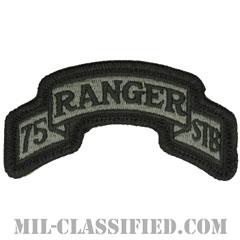 第75レンジャー連隊特殊部隊大隊(Special Troops Battalion, 75th Ranger Regiment)[UCP(ACU)/メロウエッジ/ベルクロ付パッチ]の画像