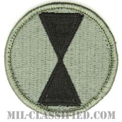 第7歩兵師団(7th Infantry Division)[UCP(ACU)/メロウエッジ/ベルクロ付パッチ]の画像