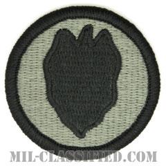 第24歩兵師団(24th Infantry Division)[UCP(ACU)/メロウエッジ/ベルクロ付パッチ]の画像