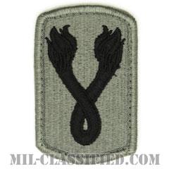 第196歩兵旅団(196th Infantry Brigade)[UCP(ACU)/メロウエッジ/ベルクロ付パッチ]の画像