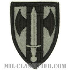 第18憲兵旅団(18th Military Police Brigade)[UCP(ACU)/メロウエッジ/ベルクロ付パッチ]の画像