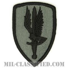 第1航空旅団(1st Aviation Brigade)[UCP(ACU)/メロウエッジ/ベルクロ付パッチ]の画像