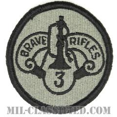 第3機甲騎兵連隊(3rd Armored Cavalry Regiment)[UCP(ACU)/メロウエッジ/ベルクロ付パッチ]の画像