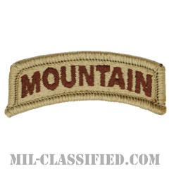 マウンテンタブ(Mountain Tab)[デザート/メロウエッジ/パッチ]の画像