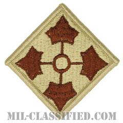 第4歩兵師団(4th Infantry Division)[デザート/メロウエッジ/パッチ]の画像