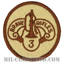 第3機甲騎兵連隊(3rd Armored Cavalry Regiment)[デザート/メロウエッジ/パッチ]の画像