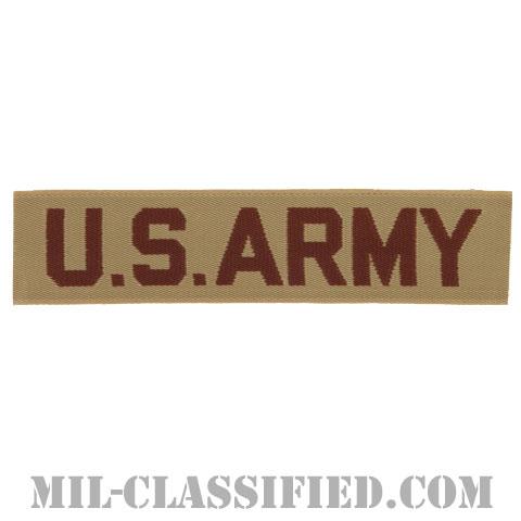 U.S.ARMY [デザート/機械織り/ネームテープ/パッチ]の画像