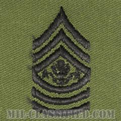 陸軍最先任上級曹長(Sergeant Major of the Army (SMA))[サブデュード/階級章/パッチ/ペア(2枚1組)]の画像