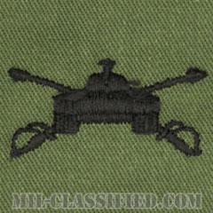 機甲科章(Armor)[サブデュード/兵科章/パッチ/ペア(2枚1組)]の画像