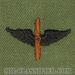航空科章(Aviation)[サブデュード/兵科章/パッチ/ペア(2枚1組)]の画像