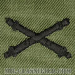 砲兵科章(Field Artillery)[サブデュード/兵科章/パッチ/ペア(2枚1組)]の画像