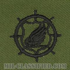 輸送科章(Transportation Corps)[サブデュード/兵科章/パッチ/ペア(2枚1組)]の画像