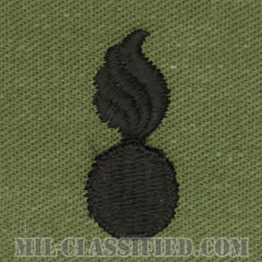 兵器科章(Ordnance Corps)[サブデュード/兵科章/パッチ/ペア(2枚1組)]の画像