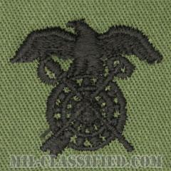 需品科章(Quartermaster Corps)[サブデュード/兵科章/パッチ/ペア(2枚1組)]の画像
