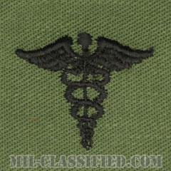 衛生科章(Medical Corps)[サブデュード/兵科章/パッチ/ペア(2枚1組)]の画像