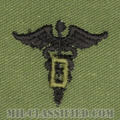 歯科医科章(Dental Corps)[サブデュード/兵科章/パッチ/ペア(2枚1組)]の画像