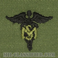 衛生業務科章(Medical Service Corps)[サブデュード/兵科章/パッチ/ペア(2枚1組)]の画像