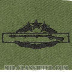 戦闘歩兵章 (フォース)(Combat Infantryman Badge (CIB), Fourth Award)[サブデュード/パッチ]の画像
