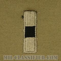 准尉 (WO1)(Warrant Officer (WO1))[デザート/階級章/パッチ/ペア(2枚1組)]の画像
