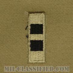 准尉 (CW2)(Chief Warrant Officer 2 (CW2))[デザート/階級章/パッチ/ペア(2枚1組)]の画像