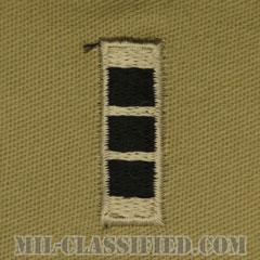 准尉 (CW3)(Chief Warrant Officer 3 (CW3))[デザート/階級章/パッチ/ペア(2枚1組)]の画像