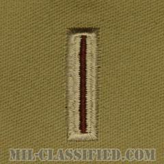 准尉 (CW5)(Chief Warrant Officer 5 (CW5))[デザート/階級章/パッチ/ペア(2枚1組)]の画像