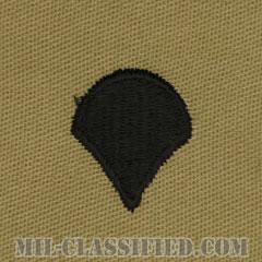 特技兵(Specialist (SPC))[デザート/階級章/パッチ/ペア(2枚1組)]の画像