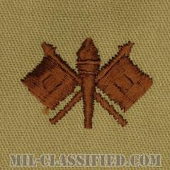 通信科章(Signal Corps)[デザート/兵科章/パッチ/ペア(2枚1組)]の画像