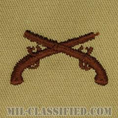 憲兵科章(Military Police Corps)[デザート/兵科章/パッチ/ペア(2枚1組)]の画像