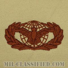 部隊防護章 (ベーシック)(Force Protection Badge, Basic)[デザート/パッチ]の画像