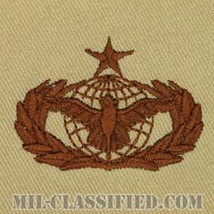 部隊防護章 (シニア)(Force Protection Badge, Senior)[デザート/パッチ]の画像