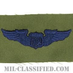 宇宙飛行士章 (ベーシック)(Astronaut Badge, Basic)[サブデュード/ブルー刺繍/パッチ]の画像