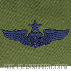 宇宙飛行士章 (シニア)(Astronaut Badge, Senior)[サブデュード/ブルー刺繍/パッチ]の画像