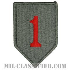 第1歩兵師団(1st Infantry Division, Red One)[UCP(ACU)/メロウエッジ/ベルクロ付パッチ]画像