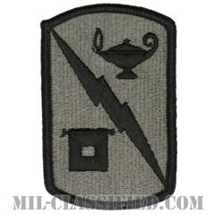 第15通信旅団(15th Signal Brigade)[UCP(ACU)/メロウエッジ/ベルクロ付パッチ]の画像