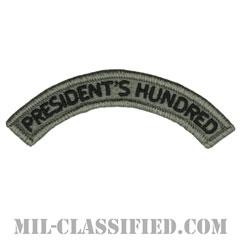 プレジデンツ ハンドレット タブ(President's Hundred Tab)[UCP(ACU)/メロウエッジ/ベルクロ付パッチ]の画像