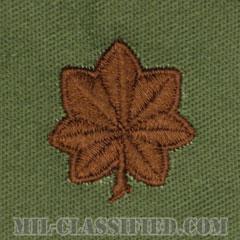 少佐(Major (MAJ))[サブデュード/空軍階級章/パッチ/ペア(2枚1組)]の画像