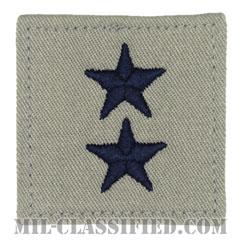 少将(Major General (MG))[ABU/空軍階級章/ベルクロ付パッチ]の画像
