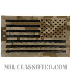 星条旗 IR NWU Type2 AOR1(リバース)(USA Flag (Reversed))[ベルクロ付パッチ]の画像