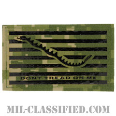 First Navy Jack(Don't Tread on Me)IR NWU Type3 AOR2[ベルクロ付パッチ]画像