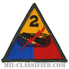 第2機甲師団(2nd Armored Division)[カラー/メロウエッジ/パッチ]画像