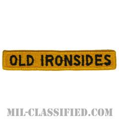 """第1機甲師団タブ(1st Armored Division """"OLD IRONSIDES"""" Tab)[カラー/メロウエッジ/パッチ]の画像"""