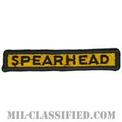 """第3機甲師団タブ(3rd Armored Division """"SPEARHEAD"""" Tab)[カラー/メロウエッジ/パッチ]の画像"""