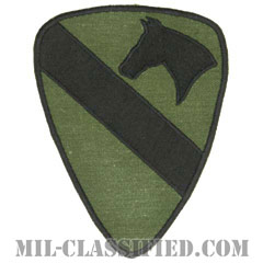 第1騎兵師団(1st Cavalry Division)[サブデュード/カットエッジ/パッチ/レプリカ]画像