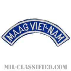 ベトナム軍事援助顧問群タブ(MAAG VIET-NAM Tab)[カラー/カットエッジ/パッチ/レプリカ]の画像