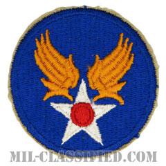 アメリカ陸軍航空隊司令部(Army Air Corps Headquarters)[カラー/カットエッジ/パッチ/レプリカ]の画像