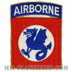 第508空挺歩兵連隊戦闘団(508th Airborne Infantry Regimental Combat Team)[カラー/カットエッジ/パッチ/レプリカ]の画像