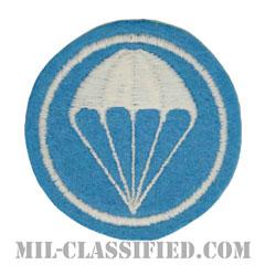 パラシュート部隊(歩兵)(Parachute Infantry)[カラー/フェルト生地/カットエッジ/キャップ用パッチ/レプリカ]の画像