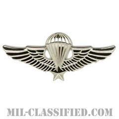 南ベトナム軍空挺章 (ベーシック)(RVN Parachutist Badge, Basic)[カラー/バッジ/レプリカ]の画像